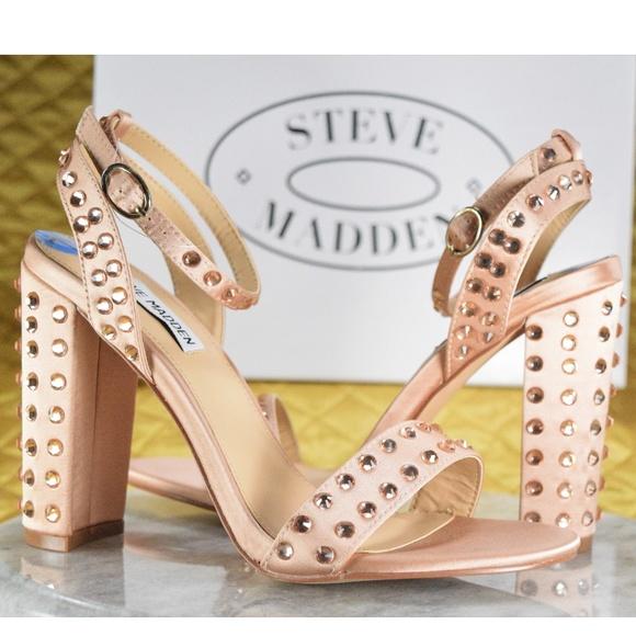 9490506c737 NEW Steve Madden Maeryn Blush Pink Heels❤ Sz 7.5M